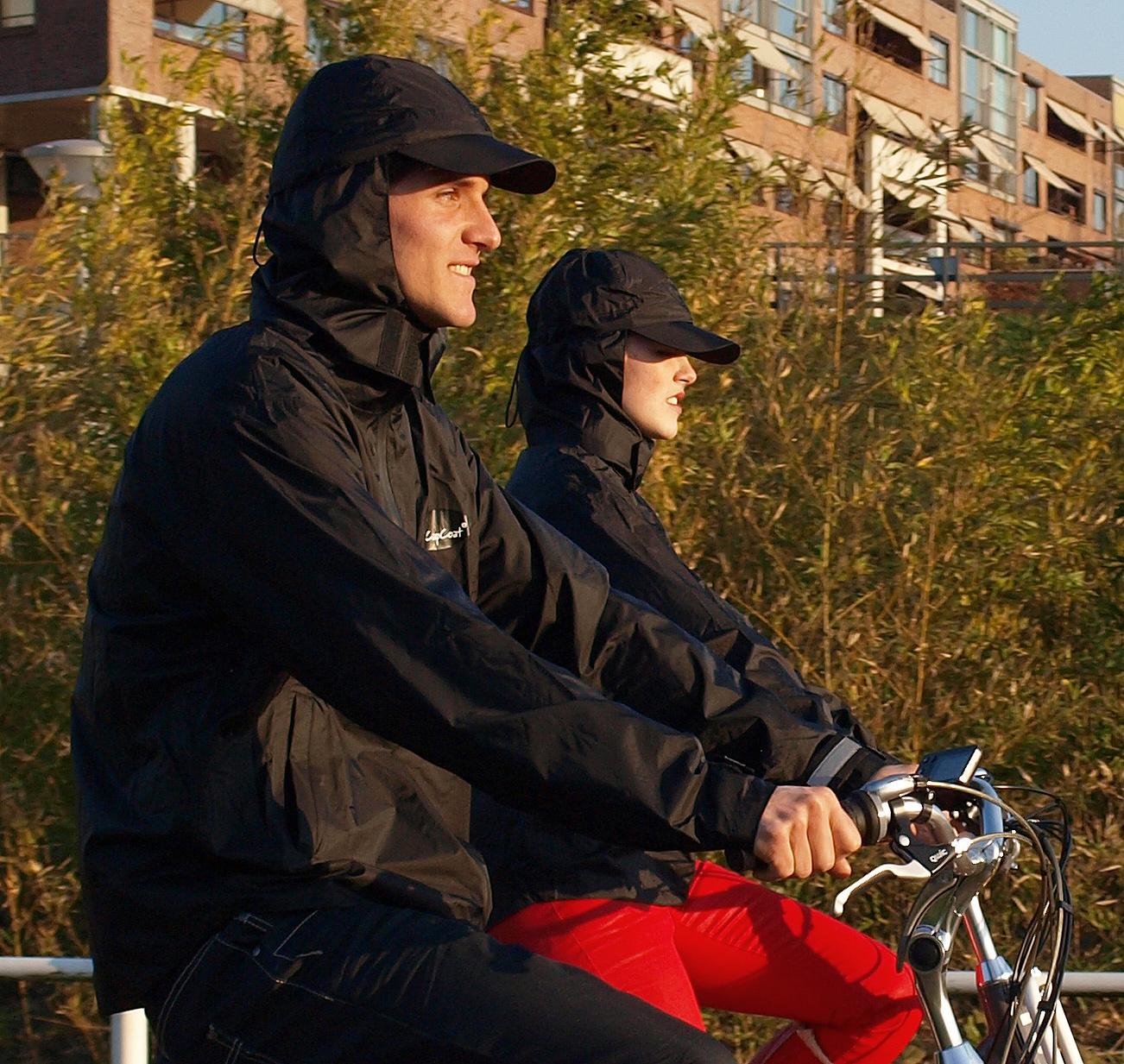ccapcoat ideaal voor fietsen