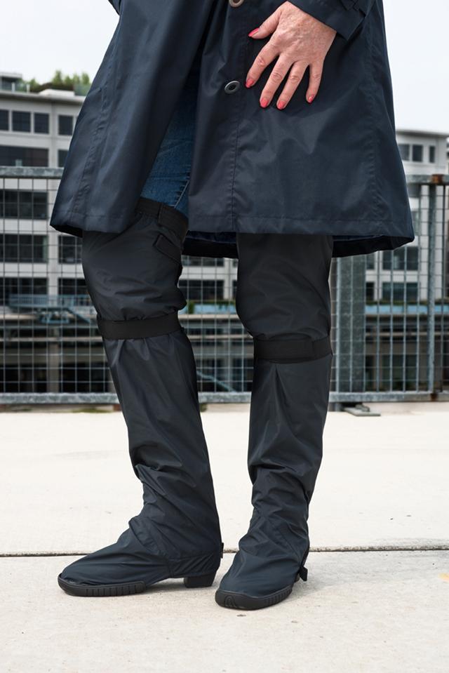 capcoat boots unisex zwart